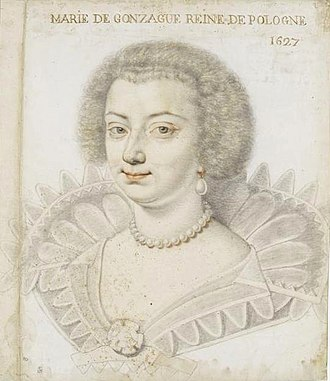 Marie Louise Gonzaga - Image: Ludwika Maria