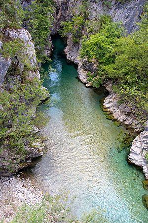 Valbona (river) - Image: Lumi i Valbones, Tropoje, Albania