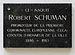 Luxembourg City Robert Schuman birthouse plaque.jpg
