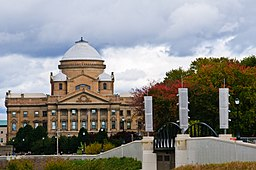 Luzerne Countys domstolbygning i Wilkes-Barre.