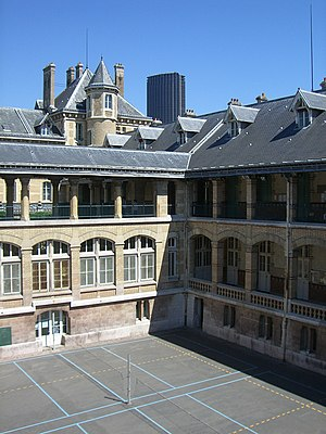 Lycée Buffon - Image: Lycée Buffon 2