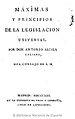 Máximas y principios de la legislación universal 1813 Alcalá Galiano.jpg