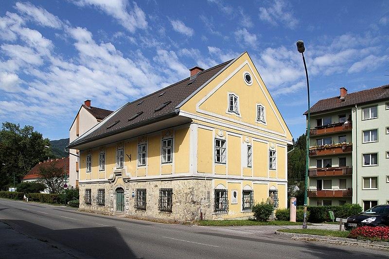File:Mürzzuschlag - ehemaliges Forstamt, Wiener Straße 79.JPG