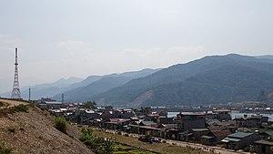 Mường Lay - Image: Mường Lay skyline