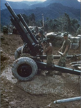 Vietnamese National Army - Image: M101 105mm Howitzer