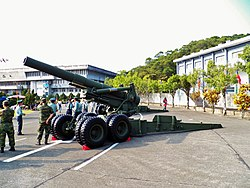 M115 203mm Howitzer Display in ORDC 20121013c.jpg