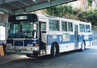 Subaru Corporation - A 5E body with Isuzu Cubic chassis