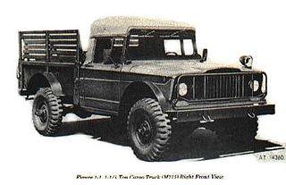 Kaiser Jeep M715 Motor vehicle