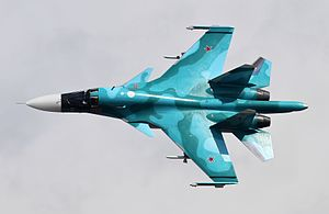 Sukhoi Su-34 - A Russian Air Force Su-34