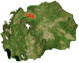 Skopje – Mappa