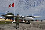 MINISTRO VALAKIVI ENTREGÓ MODERNA FLOTA DE 12 AERONAVES CANADIENSES TWIN OTTER DHC-6 SERIE 400 A LA FUERZA AÉREA DEL PERÚ (19405135129).jpg