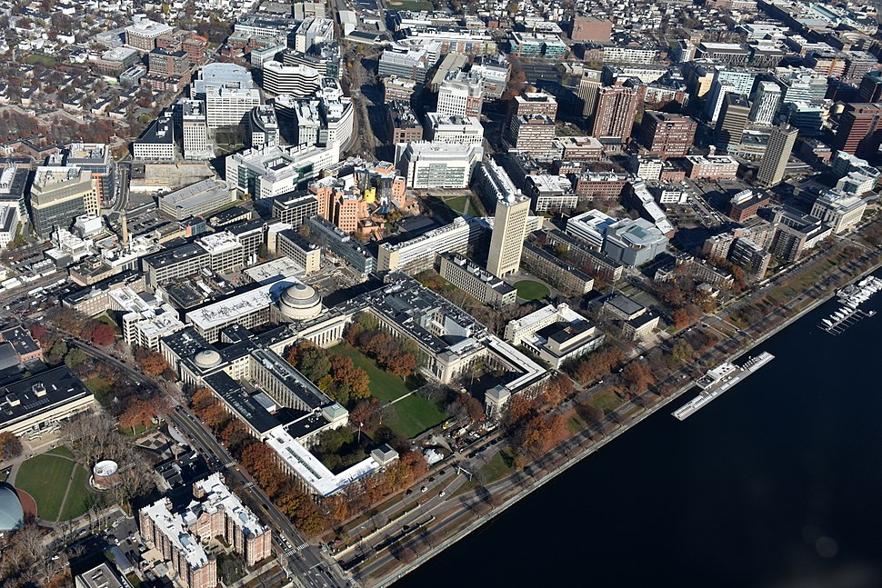 MIT East Campus aerial