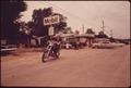 MOTORCYCLIST IN LEAKEY, TEXAS, NEAR SAN ANTONIO - NARA - 554873.tif