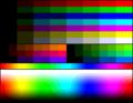 MSX2 Screen8 palette color test chart.png
