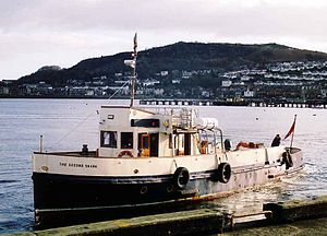 The Second Snark serves on the ferry service from Gourock pierhead.