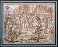 Maarten van heemskerck, lapidazione dei vecchioni, dalle storie di susanna, 1562.jpg