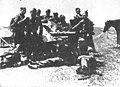Macedonian fighters captures Bulgarian cannon 15 VI 1944.jpg