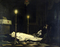Madarász, Viktor - The Mourning of László Hunyadi - Google Art Project.jpg