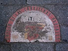 Puerta del sol wikipedia wolna encyklopedia for Kilometro 0 puerta del sol