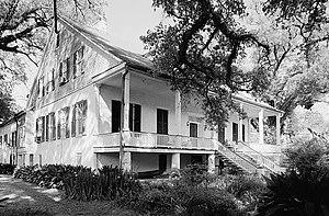 Magnolia Plantation (Derry, Louisiana) - Magnolia Plantation House