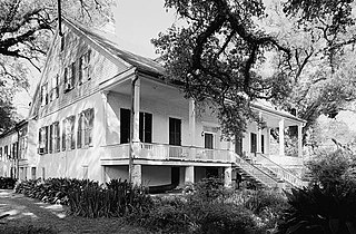 Magnolia Plantation (Derry, Louisiana) United States historic place
