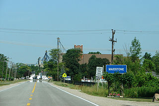 Maidstone, Ontario human settlement in Canada