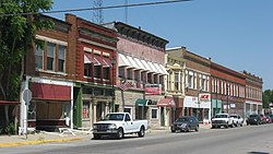 Clinton's Downtown Historic District is listed on the National Register of Historic Places