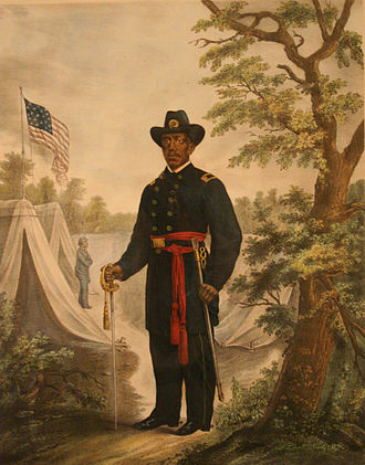 Martin Delany - Martin R. Delany was the only black officer who received the rank of major during the Civil War.