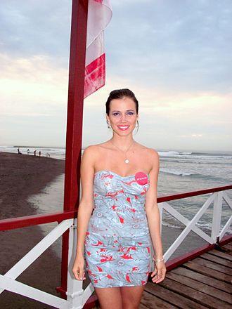 Miss World 2004 - Miss World 2004 titleholder - María Julia Mantilla
