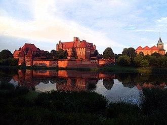 Seven Wonders of Poland - Image: Malbork 1
