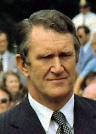 Fraser Government - Image: Malcolm Fraser 1977 crop