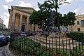 Malta - Valletta - Independence Square - Dun Mikiel Xerri u Sħabu Monument (1986) by Anton Agius 03.jpg
