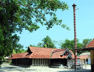 Manakkattu Devi Temple - The main building.