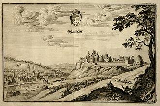 House of Mansfeld - Mansfeld in 1650