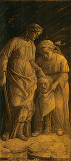 set of paintings by Andrea Mantegna