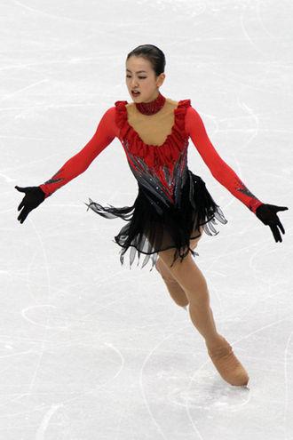 Mao Asada - Asada performing her free skating to Bells of Moscow at the 2010 Winter Olympics.