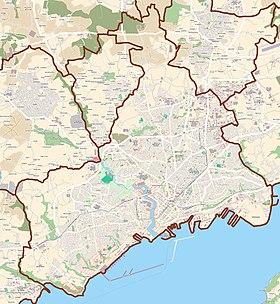 Voir la carte topographique deBrest