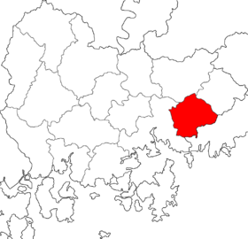Location of Gimhae