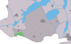 Mirns - Image: Map NL Gaasterlân Sleat Murns
