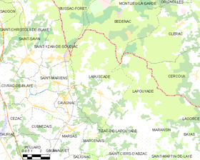 Map commune FR insee code 33233.png