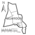 Map of Montour County, Pennsylvania No Text.png