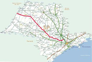 Rodovia Marechal Cândido Rondon highway in São Paulo
