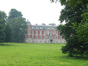 Marchin - The Belle-Maison castle (18th century)