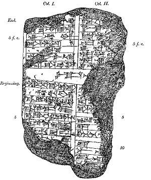 Marduk-shapik-zeri - Image: Marduk shapik zeri cylinder