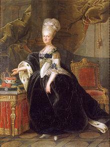 Maria Kunigunde as Princess-Abbess. (Source: Wikimedia)