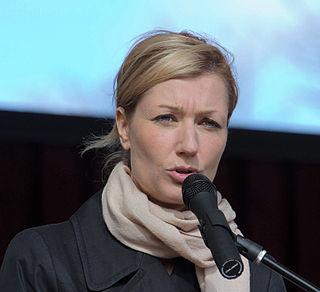 Maria Guzenina Finnish politician and television presenter