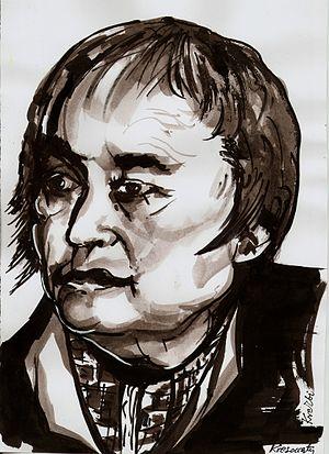 Maria Janion by Zbigniew Kresowaty