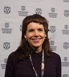 Maria Zennström vid International Film Festival Rotterdam 2017