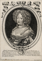 Marie Thérèse of Austria in 1683, Queen of France and Navarre by Nicolas Larmessin.png