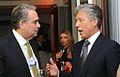 Mark Hoffman, CEO and president, CNBC, and Bill McDermott, co-CEO of SAP AG (8415174752).jpg